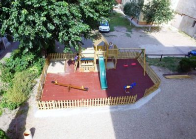 Ansamblu joaca Jungle Gym Lodge cu Modul Train si Modul Swing extra 2 leagane - 2