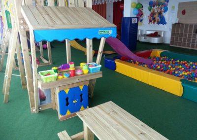 Ansamblu loc de joaca Jungle Gym cu Modul Mini Market - Timisoara