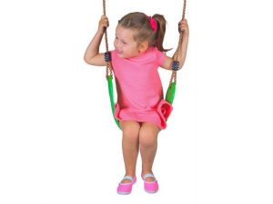 Leagan plastic swing