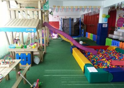 Loc de joaca Jungle Gym cu Modul Mini Market si tobogan - Timisoara
