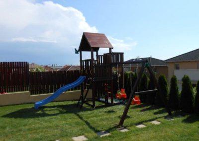 Loc de joaca copii Jungle Gym Palace cu Modul Swing Extra 2 leagane - Ungaria