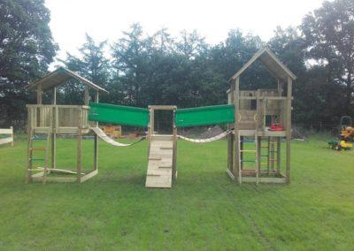 Montare complex de joaca Jungle Gym 7