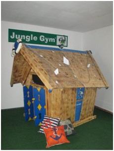 Locuri de joaca din lemn pentru interior