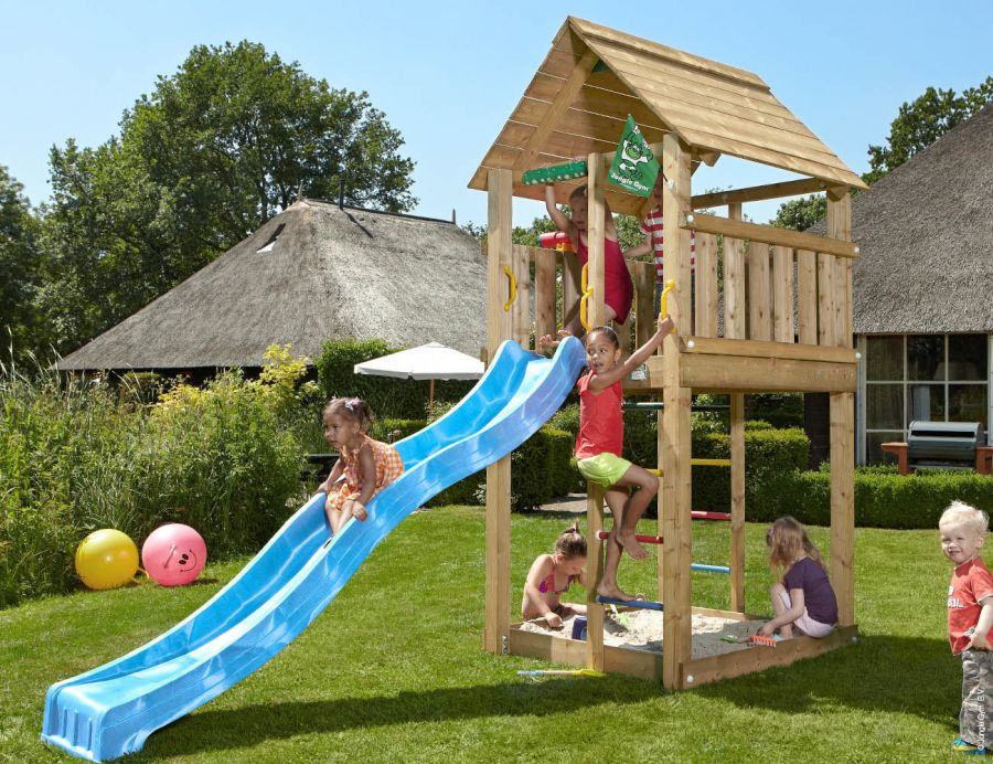 climbing-frame-and-slide-jungle-cabin