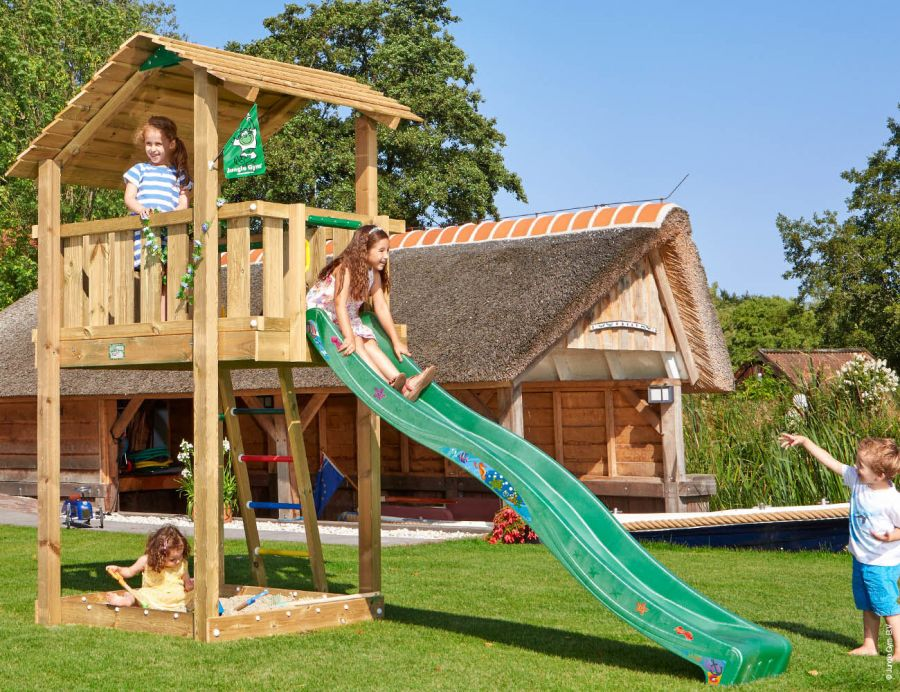 climbing-frame-and-slide-jungle-shelter