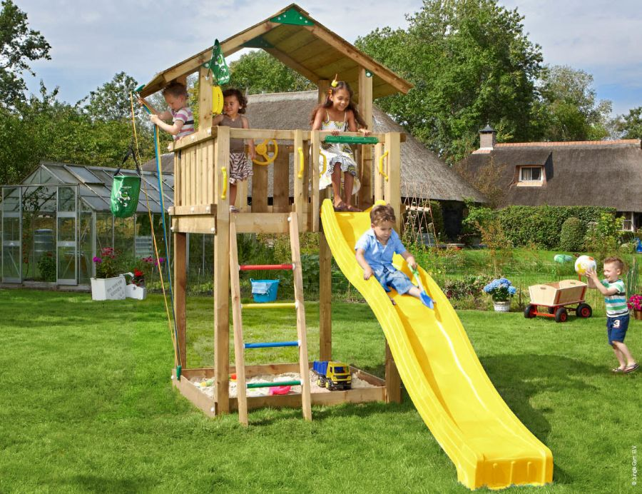 climing-frame-slide-jungle-chalet-11