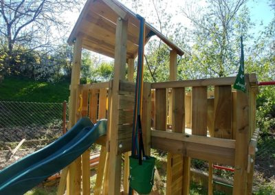turn Jungle Gym Mansion cu bara 4