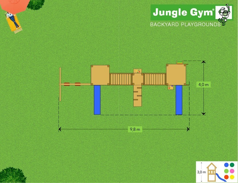 Jungle Gym complex Mega 3 2