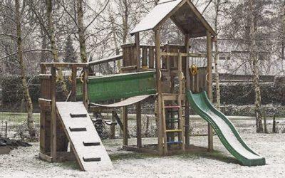 Cum să-ți faci grădina și complexul de joacă Jungle Gym să reziste pe perioada iernii!
