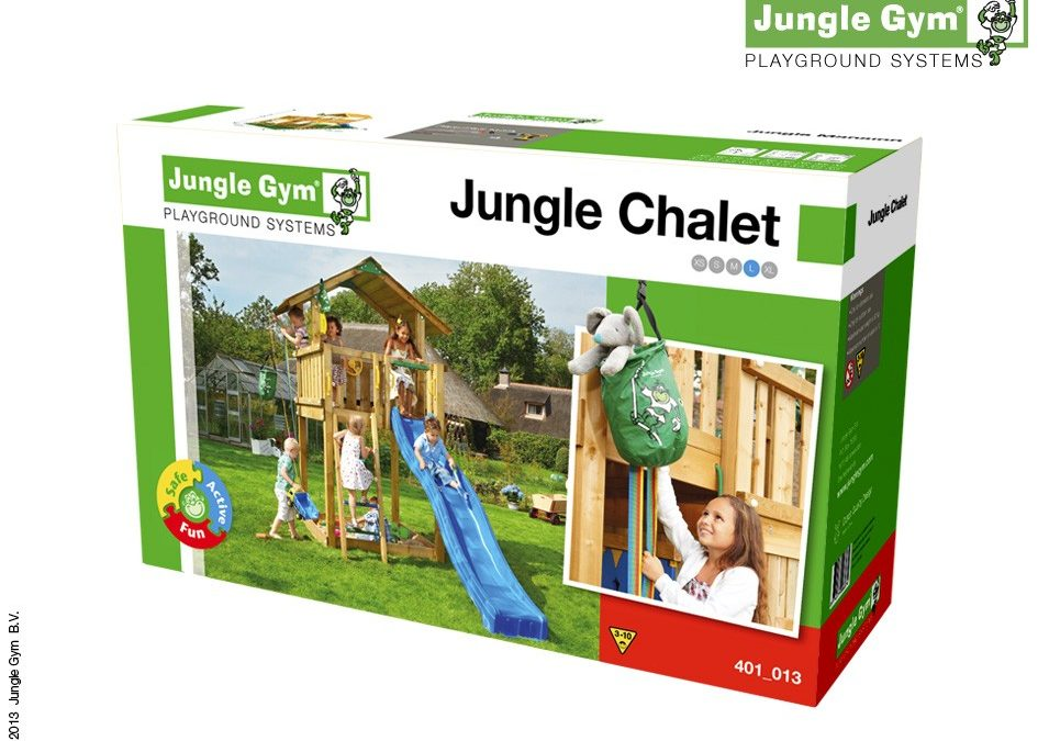 NOU! Kituri de asamblare Jungle Gym